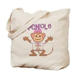 Little Monkey Nichole Tote Bag