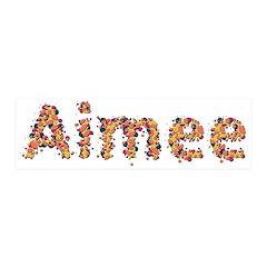 Aimee Fiesta 21x7 Wall Peel