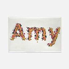 Amy Fiesta Rectangle Magnet