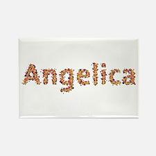 Angelica Fiesta Rectangle Magnet