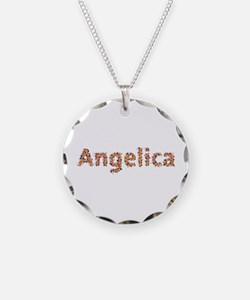 Angelica Fiesta Necklace Circle Charm
