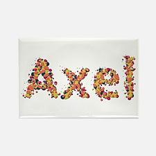 Axel Fiesta Rectangle Magnet
