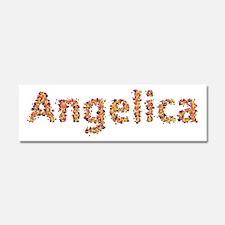 Angelica Fiesta 10x3 Car Magnet