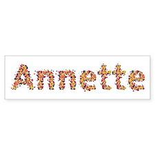 Annette Fiesta Bumper Bumper Sticker