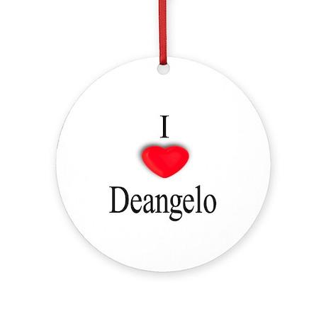 Deangelo Ornament (Round)