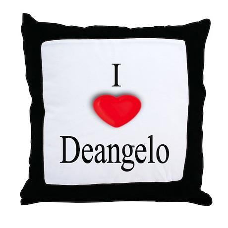Deangelo Throw Pillow