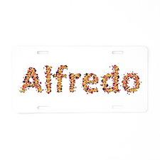 Alfredo Fiesta Aluminum License Plate