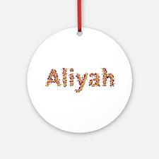 Aliyah Fiesta Round Ornament