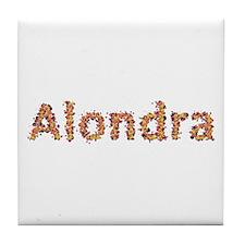 Alondra Fiesta Tile Coaster