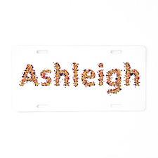 Ashleigh Fiesta Aluminum License Plate