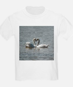 Swans in Love T-Shirt