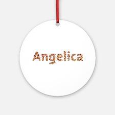 Angelica Fiesta Round Ornament