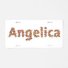Angelica Fiesta Aluminum License Plate