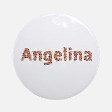Angelina Fiesta Round Ornament