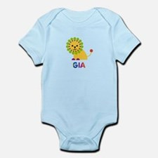 Gia the Lion Infant Bodysuit