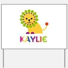 Kaylie the Lion Yard Sign