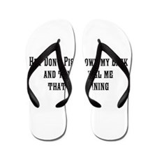 Raining Flip Flops
