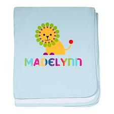 Madelynn the Lion baby blanket