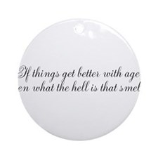 Aging Ornament (Round)