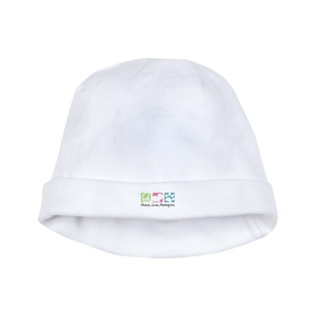 Peace, Love, Peekapoos baby hat