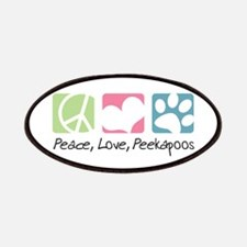 Peace, Love, Peekapoos Patches
