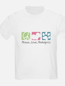 Peace, Love, Peekapoos T-Shirt