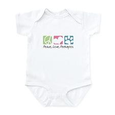 Peace, Love, Peekapoos Infant Bodysuit