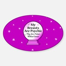 My Breasts Are Psychic Decal