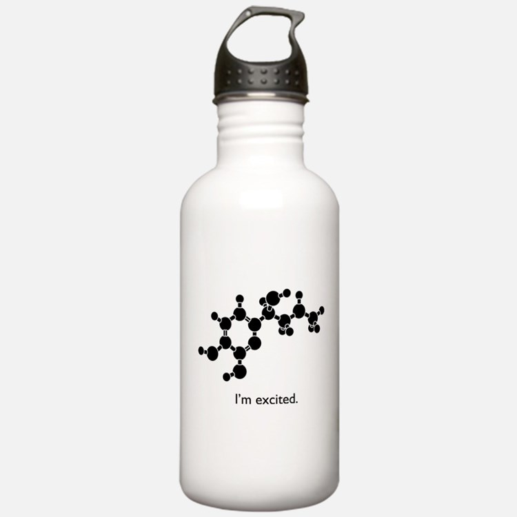 Excited Epinephrine Water Bottle
