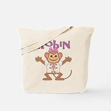 Little Monkey Robin Tote Bag