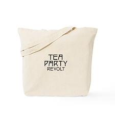 Tea Party Revolt (plain) Tote Bag