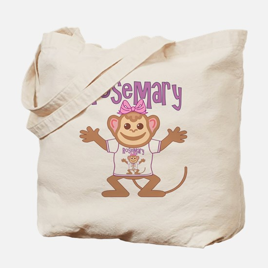 Little Monkey Rosemary Tote Bag