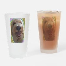 Dreamy Dog Drinking Glass
