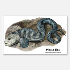 Wolf Eel Sticker (Rectangle)