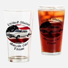 Hurst Olds Drinking Glass