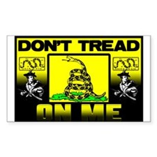"""Don't Tread On Me"" Decal"