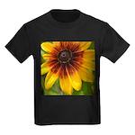 Black Eyed Susan Kids Dark T-Shirt