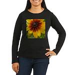 Black Eyed Susan Women's Long Sleeve Dark T-Shirt