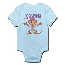 Little Monkey Sabrina Infant Bodysuit