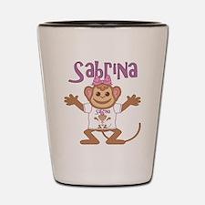 Little Monkey Sabrina Shot Glass