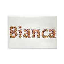 Bianca Fiesta Rectangle Magnet