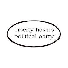 Liberty has no Political Part Patches