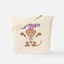 Little Monkey Sophie Tote Bag