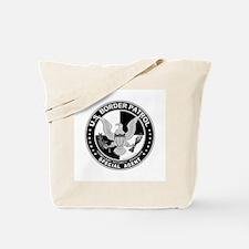 Hispanic US Border Patrol SpA Tote Bag