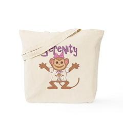Little Monkey Serenity Tote Bag