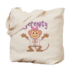 Little Monkey Serenity Tote Bag