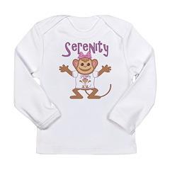 Little Monkey Serenity Long Sleeve Infant T-Shirt