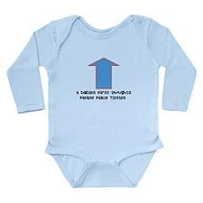 Baby food Long Sleeve Infant Bodysuit