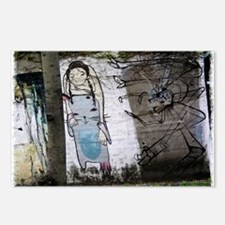 Helaine's Japanese Graffiti Postcards (Package of