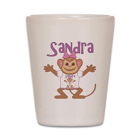Little Monkey Sandra Shot Glass